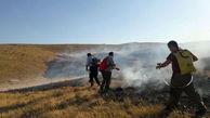 آتش سوزی منطقه خالدنبی خاموش شد