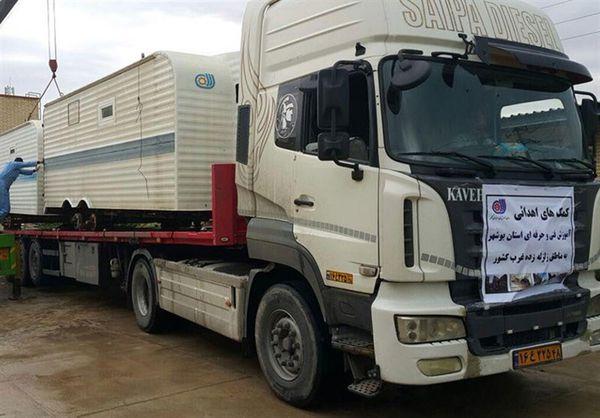 ۱۰۰ کانکس برای زلزلهزدگان غرب کشور در گلستان ساخته و ارسال میشود