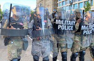 فیلم/ گارد ملی آمریکا علیه مردم!