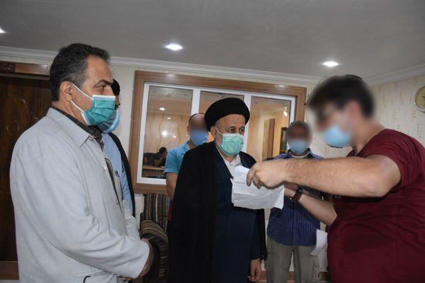 دیدار مسئولان قضایی گلستان با مددجویان زندان