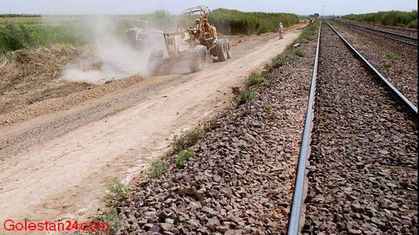 راه آهن گرگان به اینچه برون