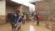 گرزارش تصویری/کمک رسانی جهادگران گلستانی به مردم سیل زده گنبد