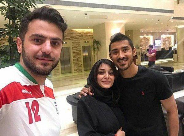 مصاحبه علی ضیا با رضا قوچان نژاد و ساره بیات