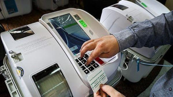 انتخابات نیمه الکترونیک در شهرستان گمیشان