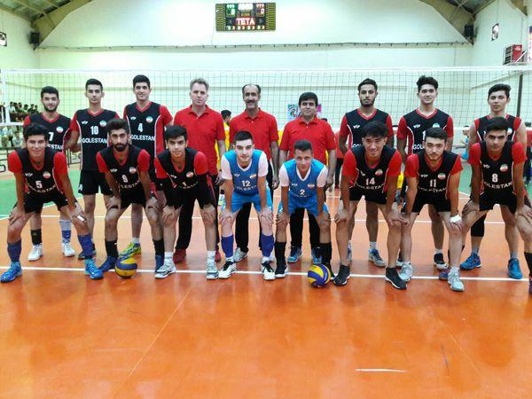 جوانان گلستان به نیمه نهایی والیبال کشور صعود کردند