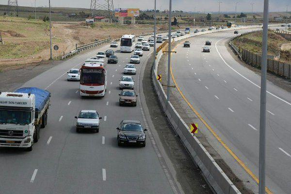 آخرین وضعیت جاده های استان