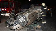 تصادف حادثه ساز در گنبد/ سه نفر مصدوم شدند