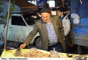 بازار های شلوغ گرگان در آخرین شب سال