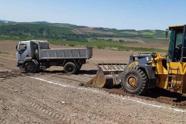 عملیات اجرایی ۱۰۰ واحد مسکونی در روستای رانشی «آق امام» آغاز شد