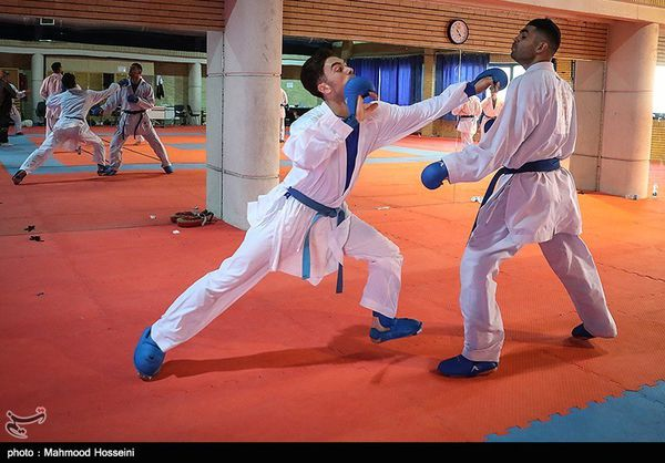مسابقات کاراته قهرمانی باشگاههای کشور در گرگان برگزار میشود