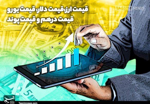 نرخ ارزهای دولتی اعلام شد