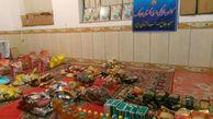 تهیه و توزیع بسته های معیشتی بین نیازمندان توسط کانون گلستان ارجنک