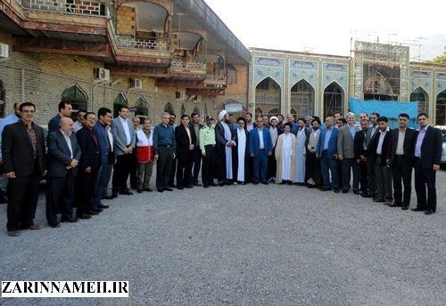 دیدار مدیران دولتی با امام جمعه علی آباد کتول+ تصاویر