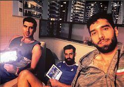 اقدام سوال برانگیز 3 ملیپوش والیبال هنگام رژه کاروانهای ورزشی +عکس