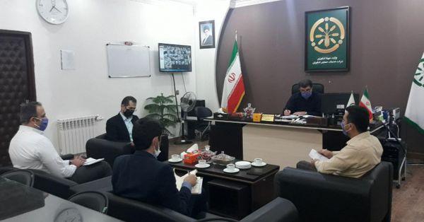 برگزاری جلسه هفتگی روسای ادارات در گلستان