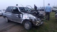 برخورد ۳ دستگاه خودرو در گلستان ۵ مصدوم برجا گذاشت