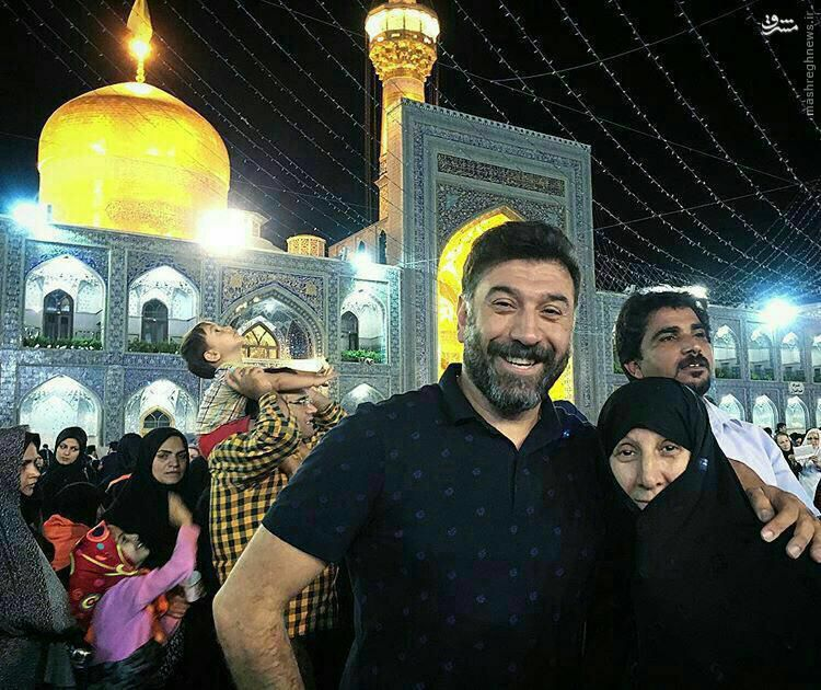 علی انصاریان در مشهد