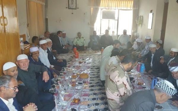 بزرگداشت شهید مرزبان محسن کلته در گمیشان