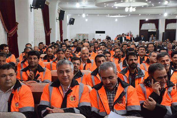 مراسم روز حمل ونقل در استان گلستان