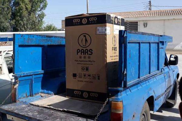 توزیع ۶۰ بسته لوازم خانگی بین سیلزدگان استان گلستان
