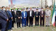 کلنگ زنی ساختمان و ابنیه فنی سامانه رادار هواشناسی استان گلستان