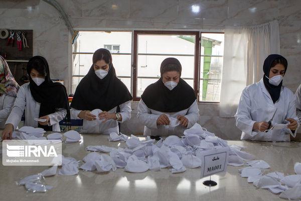 راهاندازی کارگاه تولید ماسک در کردکوی و چند خبر کوتاه از گلستان