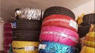 کشف لاستیک های احتکارشده در علی آبادکتول