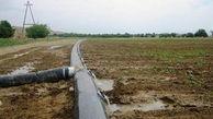 افتتاح طرح خط انتقال آب با لوله در آزادشهر