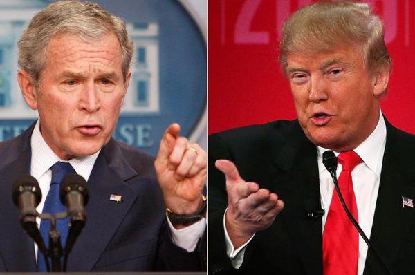 شباهت بوش و ترامپ!