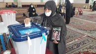 تصاویر زیبا از حضور مادران شهید استان گلستان در انتخابات ۱۴۰۰