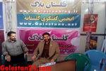 گزارش تصویری از بازدید و نشست صمیمی سخنگوی دومین نمایشگاه رسانه های دیجیتال انقلاب اسلامي با گلستان24