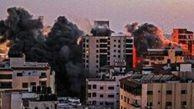 فیلم/ خرابه ساختمان رسانههای خارجی در غزه