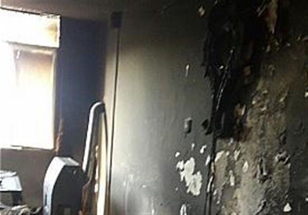 آتشسوزی منزلی در رامیان منجر به مرگ مادر و مجروحیت دختر شد