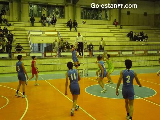 صعود تیم جوانان والیبال استان گلستان