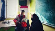بهره مندی ۱۸۰۰ گلستانی از خدمات کاروان سلامت