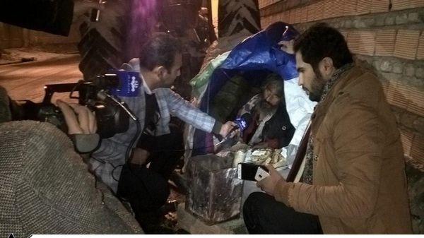 شهروند کارتن خواب کردکوی دارای سرپناه شد+تصاویر