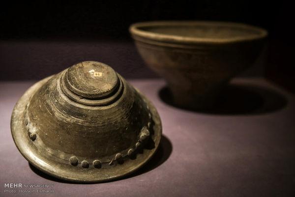 ۸۳۲ قلم شی تاریخی در گلستان کشف شد