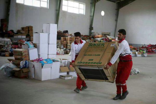 اهدای ۱۰۱ دستگاه اجاق گاز توسط انجمن داروسازان گلستان به سیلزدگان آق قلا