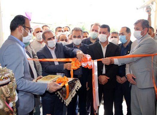 یک باب مدرسه تازه تاسیس شهدای بانک مسکن در روستای یکه قوز شهرستان کلاله افتتاح گردید