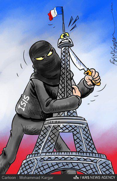 تیغ داعش، زیر گلوی فرانسه