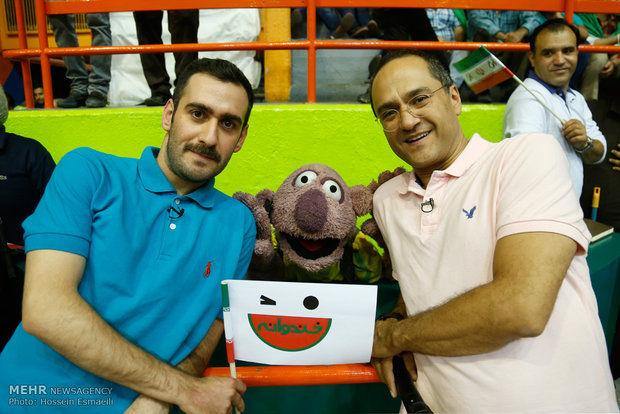 خندوانه از والیبال ایران آمریکا