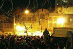 حمله مردم خشمگین به سفارت عربستان/ آتش سوزی مشکوک در ساختمان سفارت+عکس