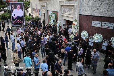 حضورافراد برجسته در مجلس ترحیم بهنام صفوی + تصاویر