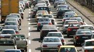 ترافیک سنگین در جاده هراز/ممنوعیت تردد به دلیل مداخلات جوی و شرایط نامناسب فیزیکی راه