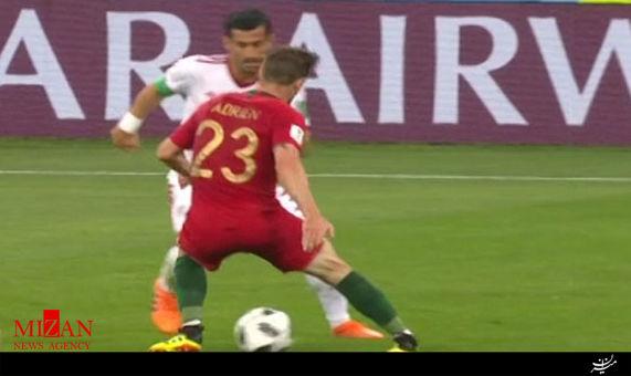 فیلم/ لایی دیدنی حاج صفی به بازیکن پرتغال
