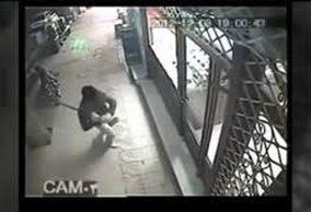 فیلم/ لحظه سرقت مسلحانه بهمن ورمزیار