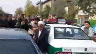 فیلم لحظه دستگیری سارق مسلح طلا فروشی در آق قلا