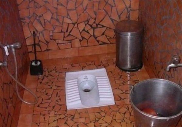 کاسه دستشویی های معمولی در کشور جمع شود