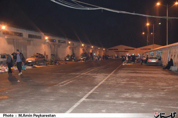 دو دستگی و نزاع در میان فروشندگان شب بازار/عدم استقبال مردم و دست فروشان از مکان جدید بازار