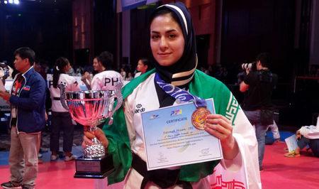 استقبال از بانوی گرگانی قهرمان آسیا